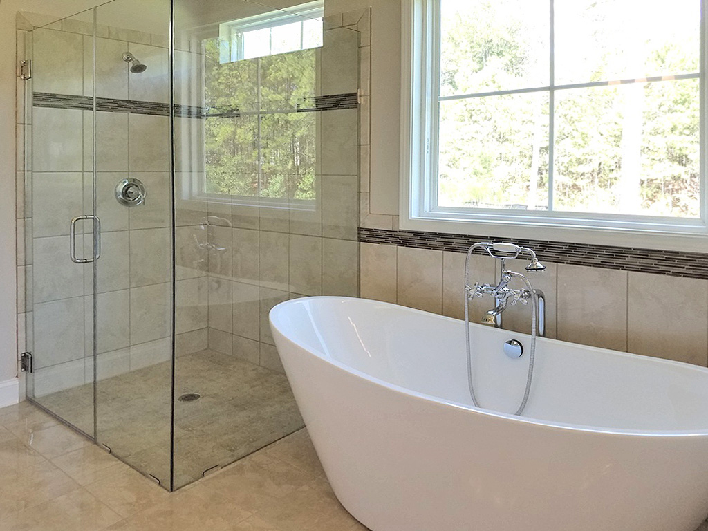 The Savannah Plan in Forest Lakes Master Bath