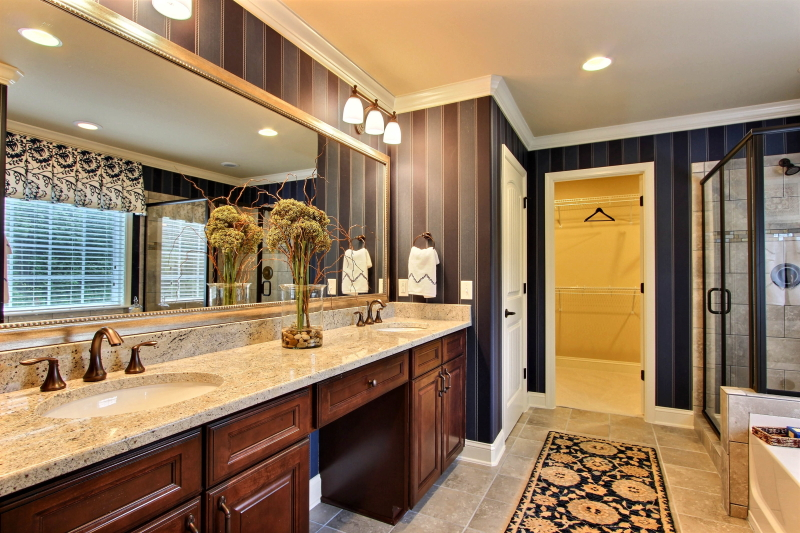 Luxurious Master Bath of the Spring Willow